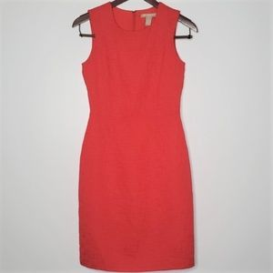 Banana Republic red sleeveless dress size 0